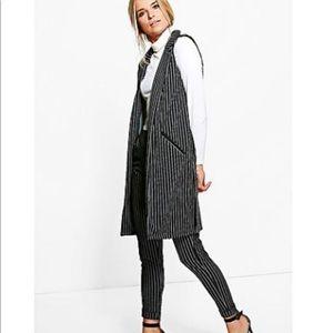 Jackets & Blazers - sleeveless long jacket